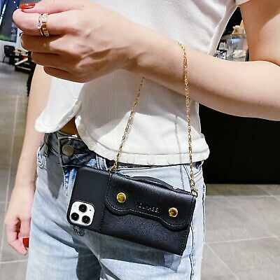 AU7.99 • Buy Fashion Handbag Chain Women Girl Wallet Purse Case Cover Skin For Various Phone