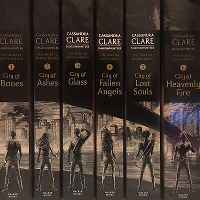 Cassandra Clare Mortal Instruments Book Series 1-6 • 14£