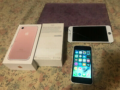 $ CDN101.51 • Buy LOT 2 X Apple IPhones As Is (unlocked All GSM AT&T, T-Mobile) Read! & Extras