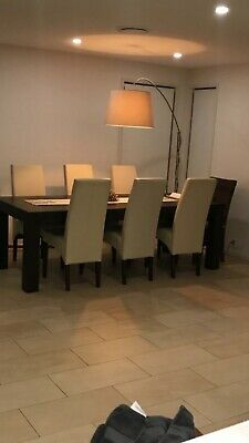 AU450 • Buy Leather Dining Chairs X 6