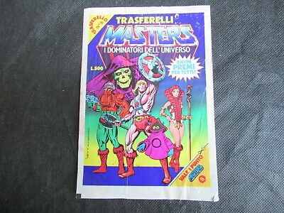 $14.57 • Buy Masters Of The Universe Trasferelli Numerato # 8 He-man Eternia Gadget Sealed