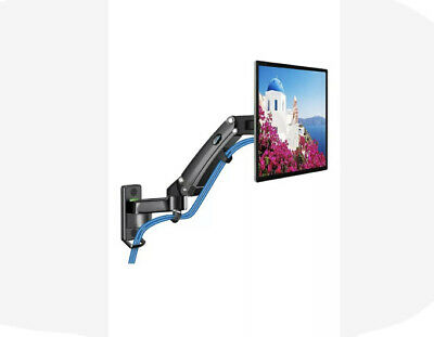 HUANUO Monitor Wall Mount Gas Spring Arm Wall-Mounted Stand 24-35 Inch Screen • 28.59£
