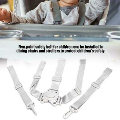 AU6.90 • Buy Baby Universal 5 Point Harness High Chair Safe Belt Seat Belts S2T1