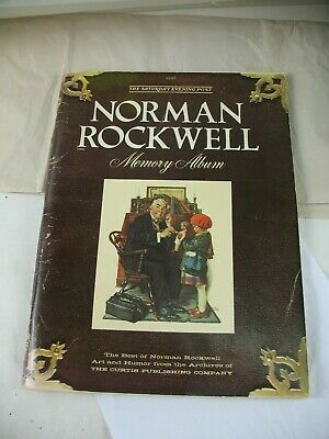 $ CDN6.25 • Buy The Saturday Evening Post Norman Rockwell Memory Album 1979