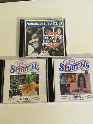 TIME LIFE SPIRIT OF THE 60s CDs 1964 And 1966 Still Swinging Love & Peace • 19.95£