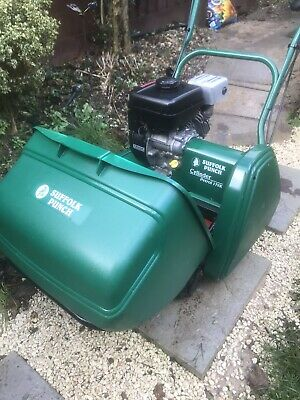 Suffolk Punch 17SK Self Propelled Petrol,Cylinder Mower,With Scarifier, Qualcast • 350£
