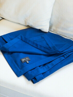 Genuine Loro Piana Cashmere & Wool Throw, Blanket, Custom Colour, NEVER USED. • 1,100£