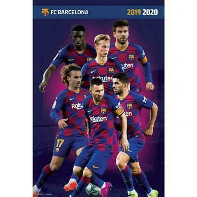 FC Barcelona Players Poster • 4£