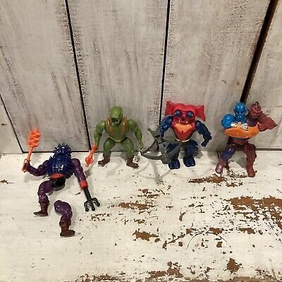 $39.95 • Buy Vintage MOTU He-Man Masters Of The Universe Figures Lot Complete With Weapons