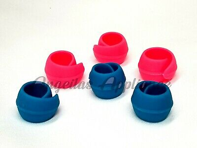 $8.95 • Buy Lot Of 6 Embroidery Sewing Machine Rubber Spool Thread Hugger Holder