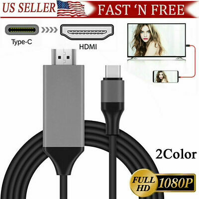 $8.67 • Buy MHL USB Type C To HDMI 1080P HD TV Cable Adapter For Android LG Samsung MacBook