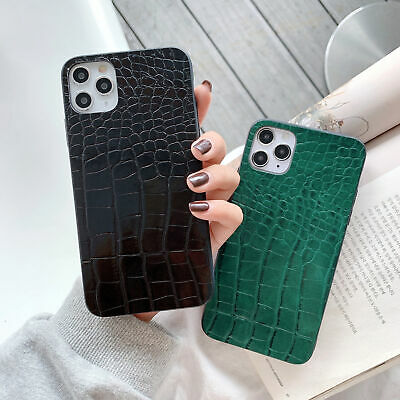 AU6.96 • Buy New Luxury Crocodile Pattern Soft PU Leather Case Skins For Various Phone Covers