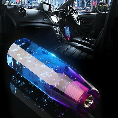 AU16.99 • Buy 5 6 Speed 150mm Crystal Bubble Car Manual Gear Stick Shift Knob Lever Shifter AU