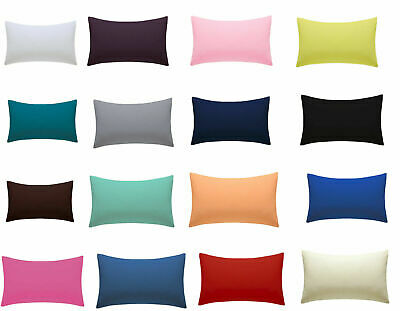 £3.99 • Buy New Housewife Luxury Plain Poly-Cotton Baby Cot Bed Pillow Case 40cm X 60cm