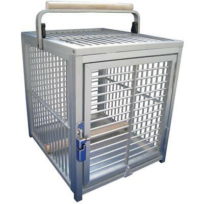 £257.91 • Buy King`s Cages Aluminium Parrot Travel Cage - Small Silver