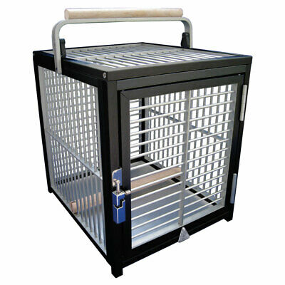 £257.91 • Buy King`s Cages Aluminium Parrot Travel Cage - Small Black