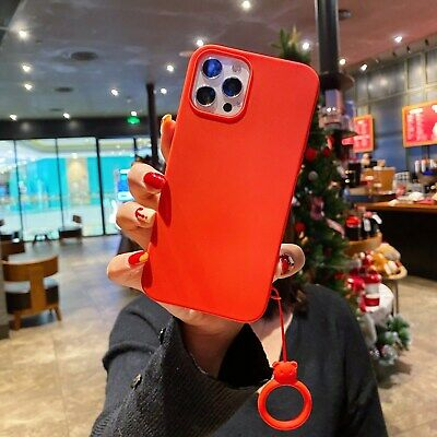 AU5.15 • Buy Classic Red Cute Bear Ring Ultra Thin Hot Silicone Case Cover For Various Phones