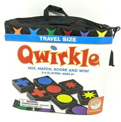 $ CDN26.51 • Buy Qwirkle: Travel Size Edition Fun Board Game 2-4 Players BRAND NEW SEALED NIB USA