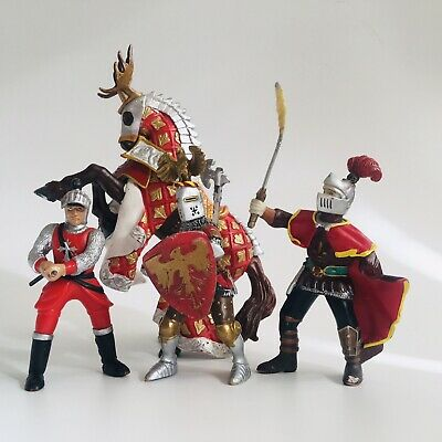 £14.50 • Buy Papo Knights And Horse Bundle Model Toy Action Figure USED