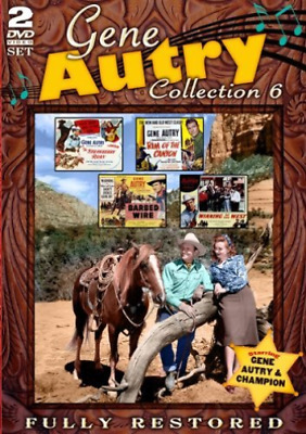 £12.94 • Buy Autry,gene-gene Autry Movie Collection 6 (us Import) Dvd New