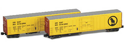 AU75.06 • Buy AZL Z Scale R-70-220 Reefer Two Car Set Great Northern