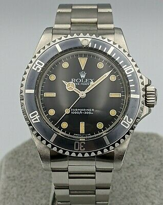 $ CDN16667.89 • Buy Rolex Submariner 14060 2 Line Dial E Serial - No Date - Full Set