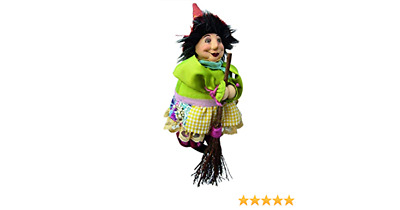 Witches Of Pendle - Lavender Garden Witch Doll Flying Floral 20cm Collectible  • 12.99£