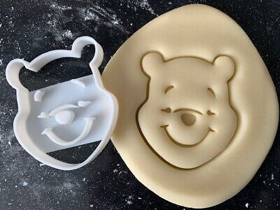 £3.85 • Buy Winnie The Pooh Cookie Pastry Biscuit Cutter Icing Fondant Baking Bake Kitchen