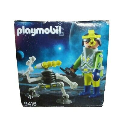 Playmobil Easter Egg 9416 Space Agent With Robot Spaceman Kid's Gift Toy • 8£