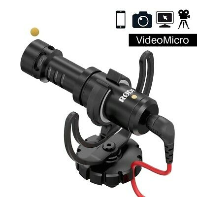 Video Recording Microphone DSLR Camera Smartphone Vlog Photography Interview Mic • 123.76£