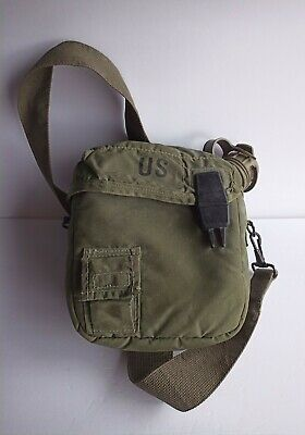 $ CDN24.91 • Buy Genuine Unicor 2 QT Collapsible Water Canteen Green Cover Pouch Sling US Army