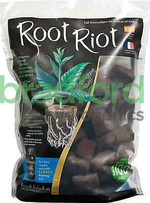 £28.97 • Buy Root Riot Bag 100 Cubes Root It Cubes Root 100 Root Cubes Propagation Seedlings