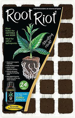£14.97 • Buy Root Riot Tray 24 Cubes