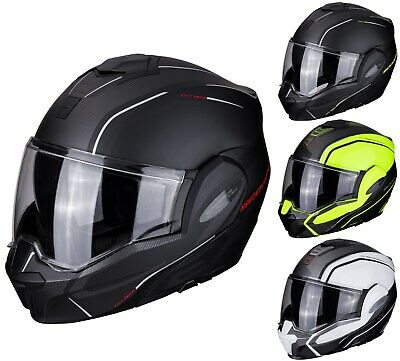 £185.73 • Buy Scorpion Exo-Tech Time Off Motorcycle Helmet Flip Up System Touring