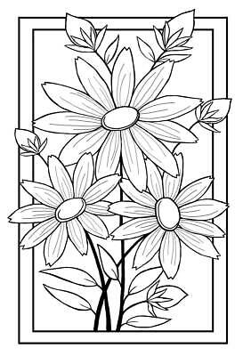 Woodware Clear Stamp Boxed Daisies Trio By Jane Gill - JGS377 • 6.50£