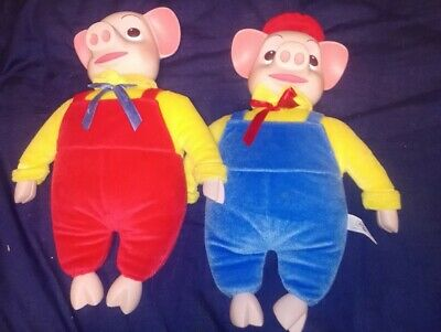 Large Pinky And Perky Plush Toys.2000, Just Entertainment Ltd Uk.  • 29.99£