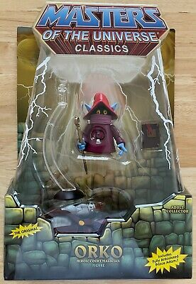 $119.99 • Buy MOTUC Masters Of The Universe Classics Orko And Prince Adam MOC Matty Collector