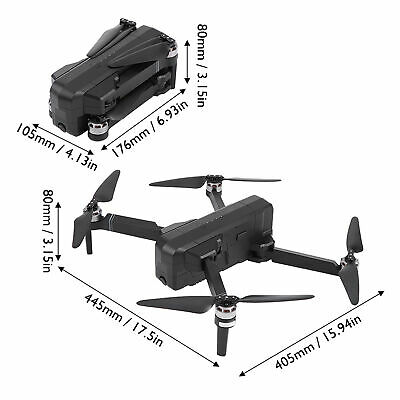 AU276.29 • Buy Drone With Camera SJRC F11 Foldable Drone Remote Control Quadcopter 1080P 5G HD