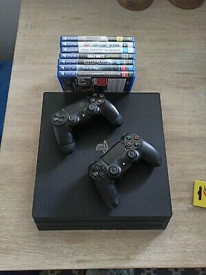 AU499 • Buy PS4 Pro 1tb With 2 Controllers And Games