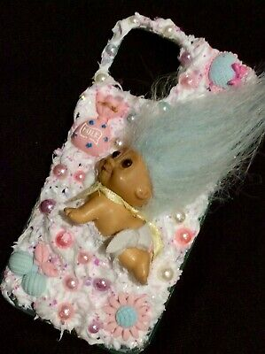 IPhone Samsung Designer Mobile Phone Case Pink Baby Troll Doll Decoden Silicone • 17£