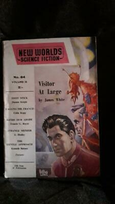 New Worlds Science Fiction Vol 28 No 84 (June 1959) - James White, Damon Knight • 8.85£