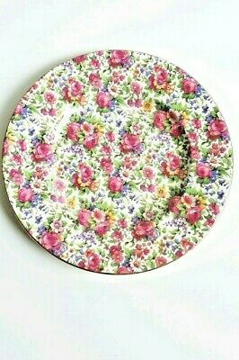 $ CDN42.51 • Buy ROYAL WINTON Chintz Summertime Dinner Plate 25  Excellent Condition