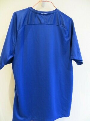 Authentic Chelsea 2017-2018 Home Football Shirt Jersey, Nike, Adult L • 30£