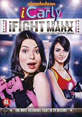 Icarly - Ifight Shelby Marx [Region 2] - Dutch Import DVD NEUF • 6.55£