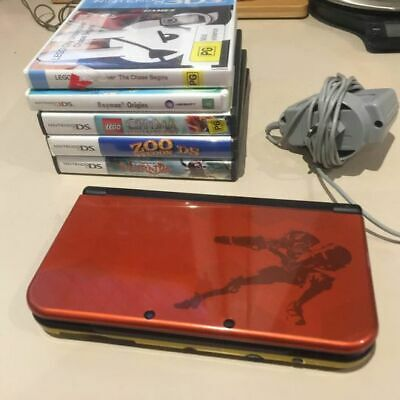 AU280 • Buy Nintendo New 3DS XL Metroid Limited Edition Collectors Console And Games