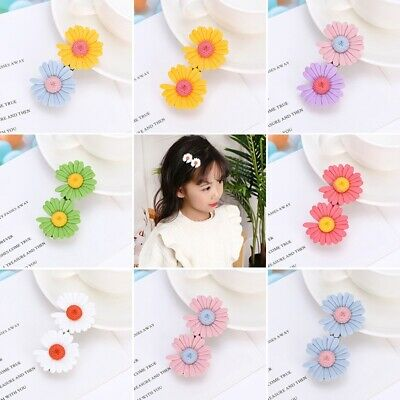 $ CDN3.43 • Buy Cute Daisy Hair Clips For Girls Child Flower Barrette Hair Clip Hair Accessories