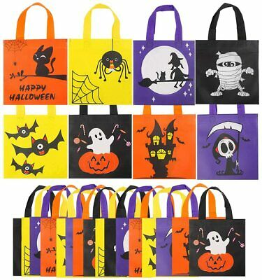 VEYLIN Halloween Non-Woven Treat Bags, 24 Pack Holiday Party Gift Tote 24pcs  • 15.59£