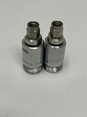 £12.18 • Buy  Lot Of 2 Sma To Type N 18ghz Adaptors (offers Welcome) (b-17)