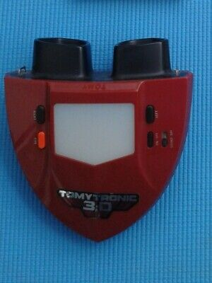 Vintage Tomytronic Sky Attack 3-D. Tomy 3D Handheld Electronic Game - Working • 90£