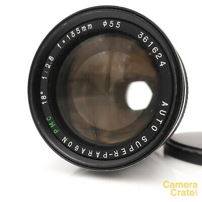 Super Paragon PMC 135mm F/2.8 Lens - C/Y Mount - Fully Working #LM-2171 • 39.95£